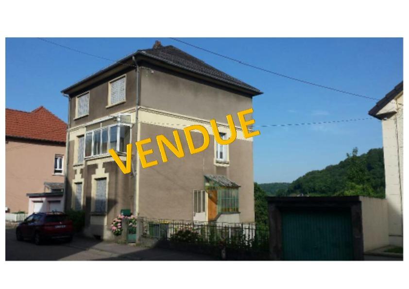 Maison à vendre F8 à Algrange