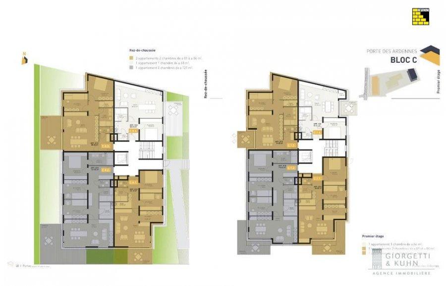 acheter appartement 3 chambres 121.03 m² erpeldange (ettelbruck) photo 4