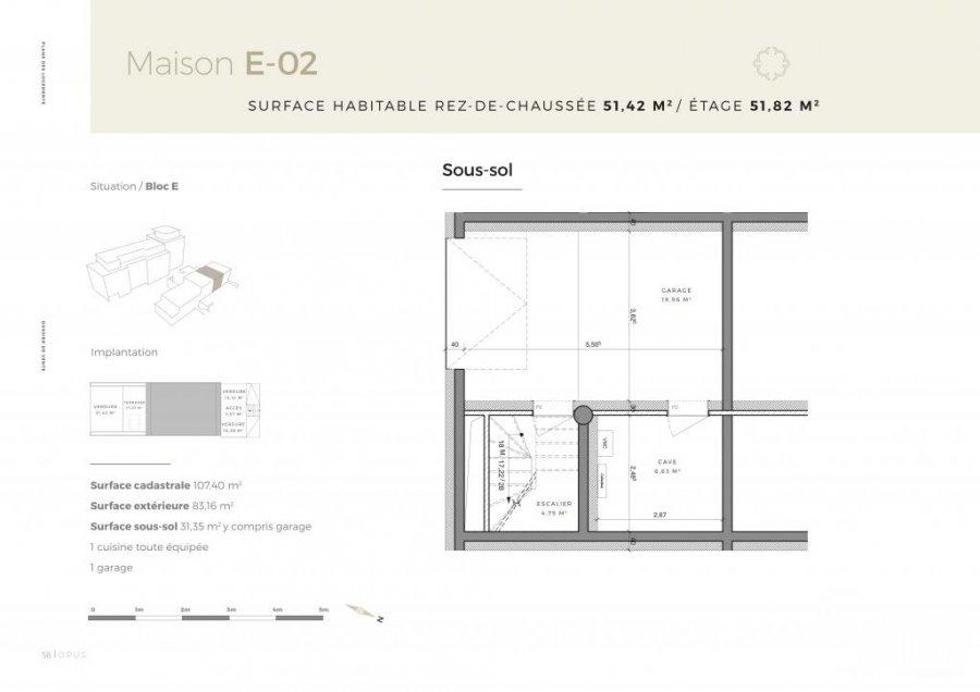 dreigeschossige wohnung kaufen 3 schlafzimmer 217.75 m² differdange foto 6