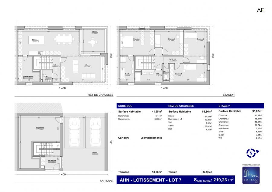 house for buy 4 bedrooms 219.23 m² ahn photo 1