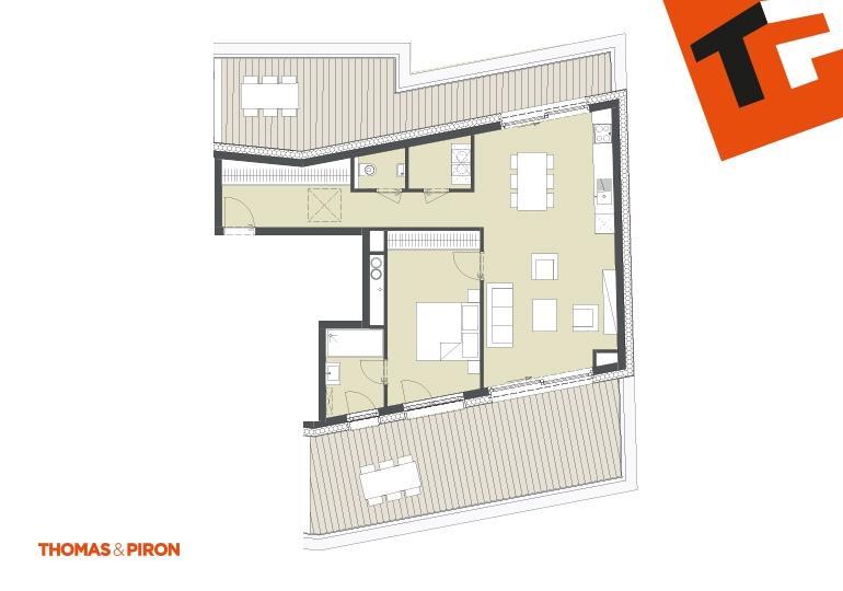 acheter penthouse 1 chambre 71.54 m² schifflange photo 1