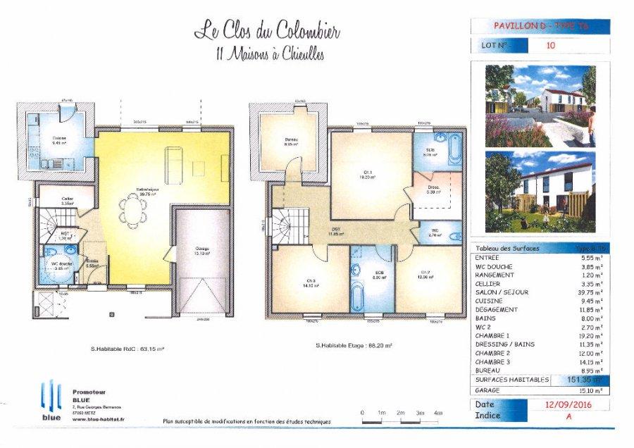 acheter maison 6 pièces 156.3 m² chieulles photo 5