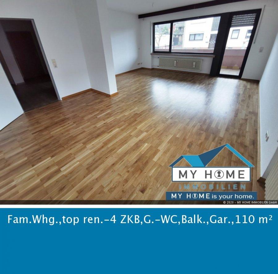 wohnung mieten 4 zimmer 110 m² konz foto 1