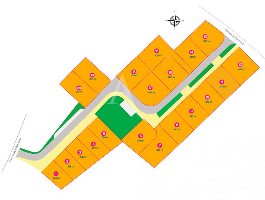 acheter terrain constructible 0 pièce 275 m² saint-jean-de-monts photo 2
