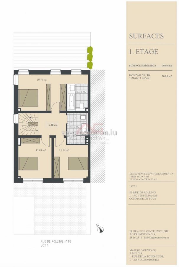 house for buy 4 bedrooms 181.9 m² erpeldange (bous) photo 3