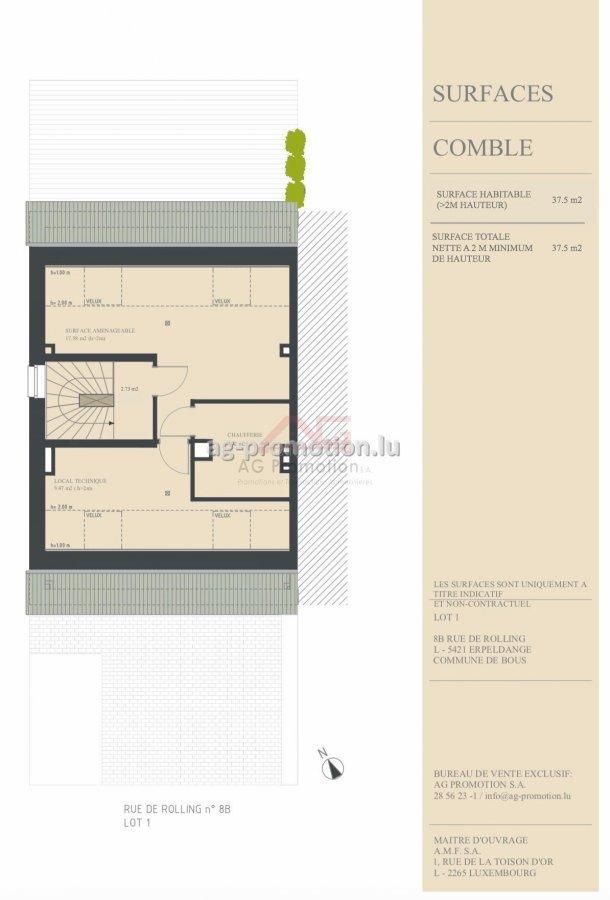 house for buy 4 bedrooms 181.9 m² erpeldange (bous) photo 4