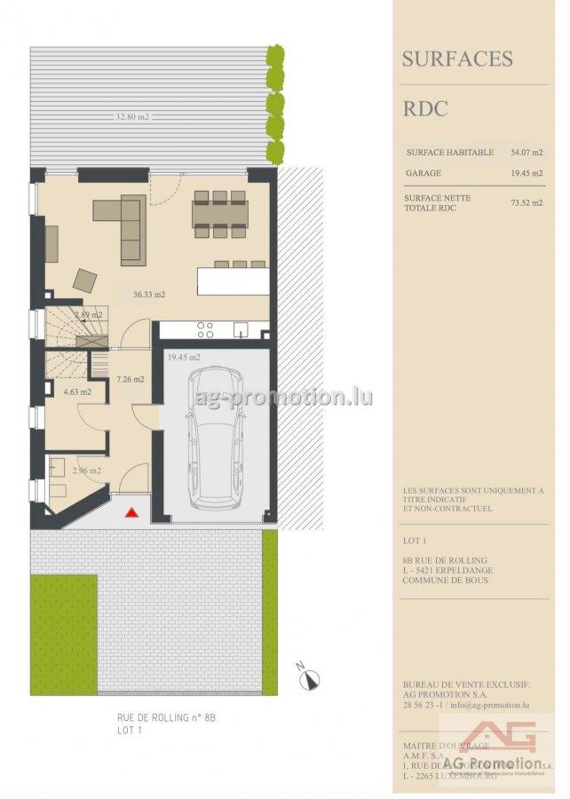 acheter maison individuelle 4 chambres 181.9 m² erpeldange (bous) photo 2