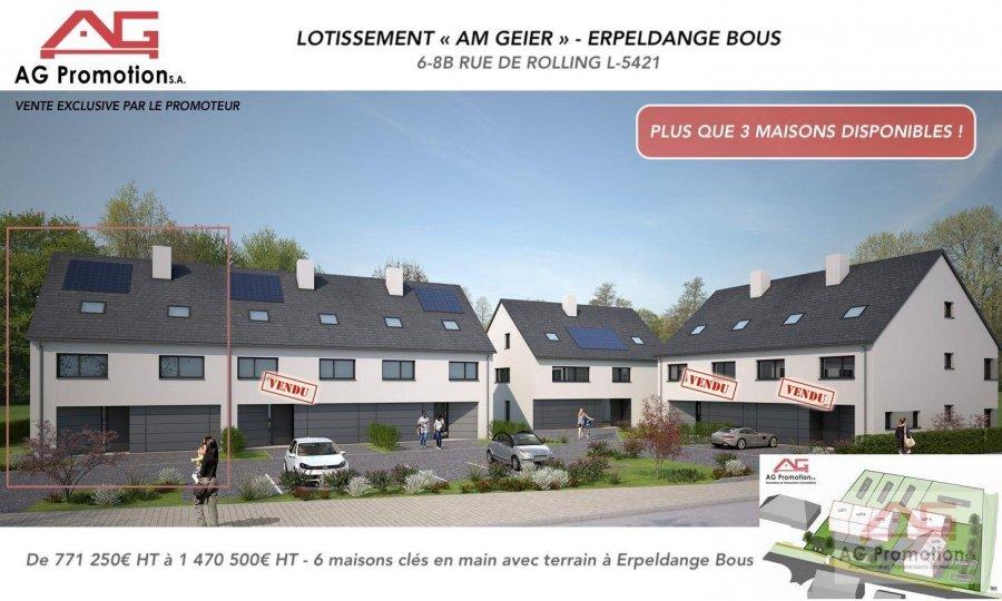 acheter maison individuelle 4 chambres 181.9 m² erpeldange (bous) photo 1