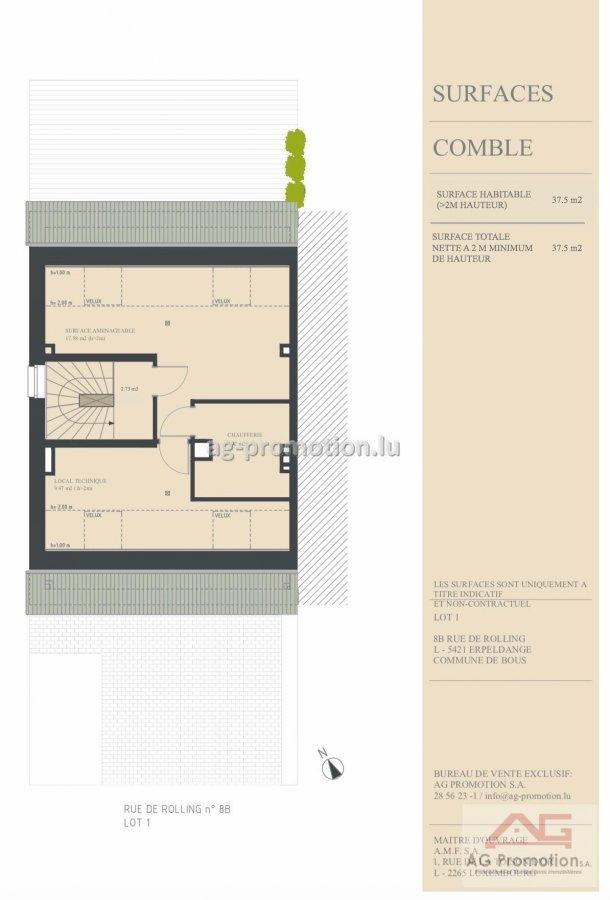 acheter maison individuelle 4 chambres 181.9 m² erpeldange (bous) photo 4