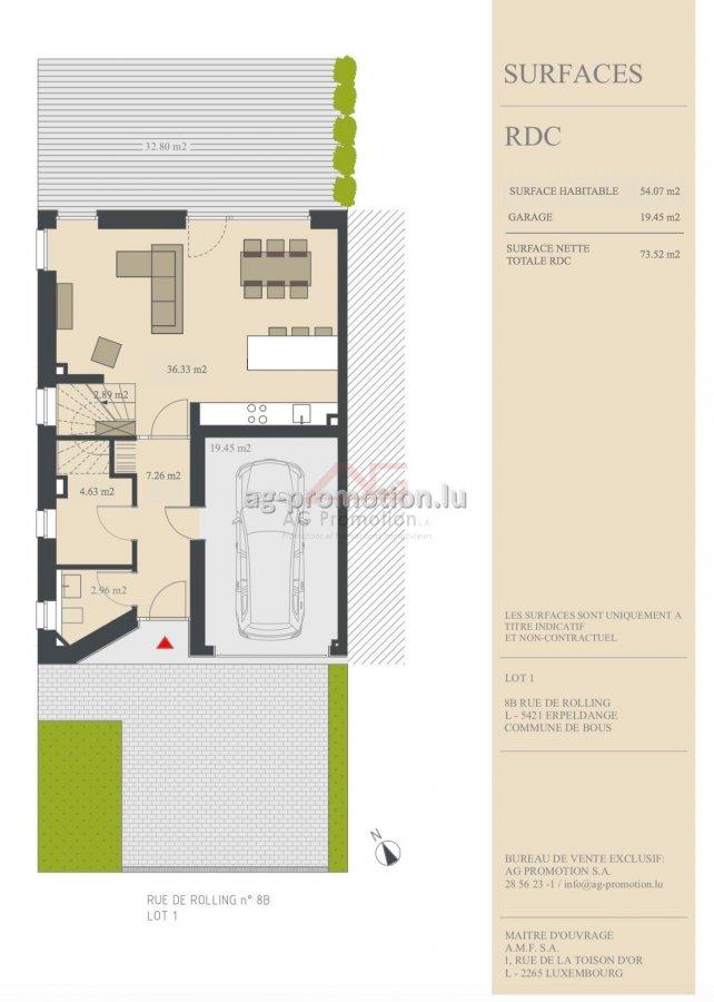house for buy 4 bedrooms 181.9 m² erpeldange (bous) photo 2