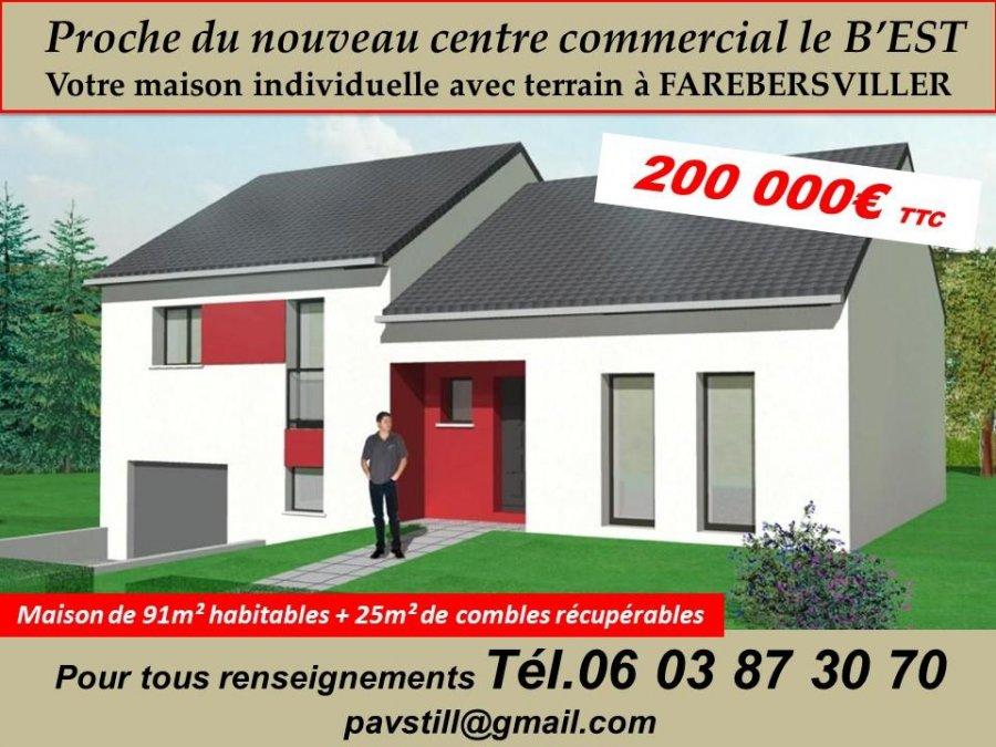 maison individuelle en vente th ding 116 m 200 000