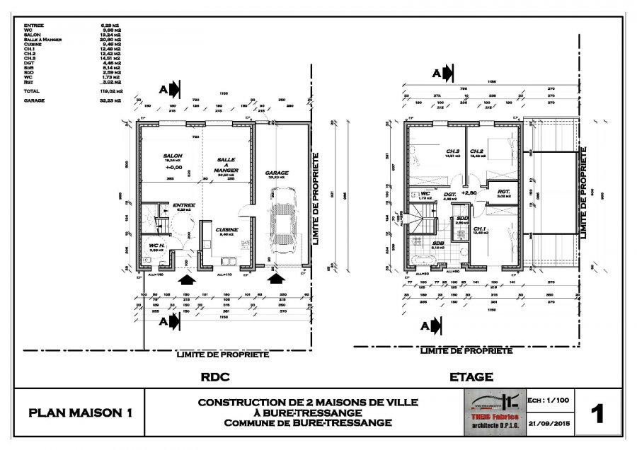acheter maison 5 pièces 119 m² hettange-grande photo 4