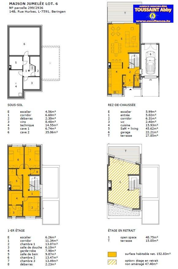 ▷ Einfamilienhaus kaufen • Beringen (Mersch) • 201,58 m² • 1.055 ...