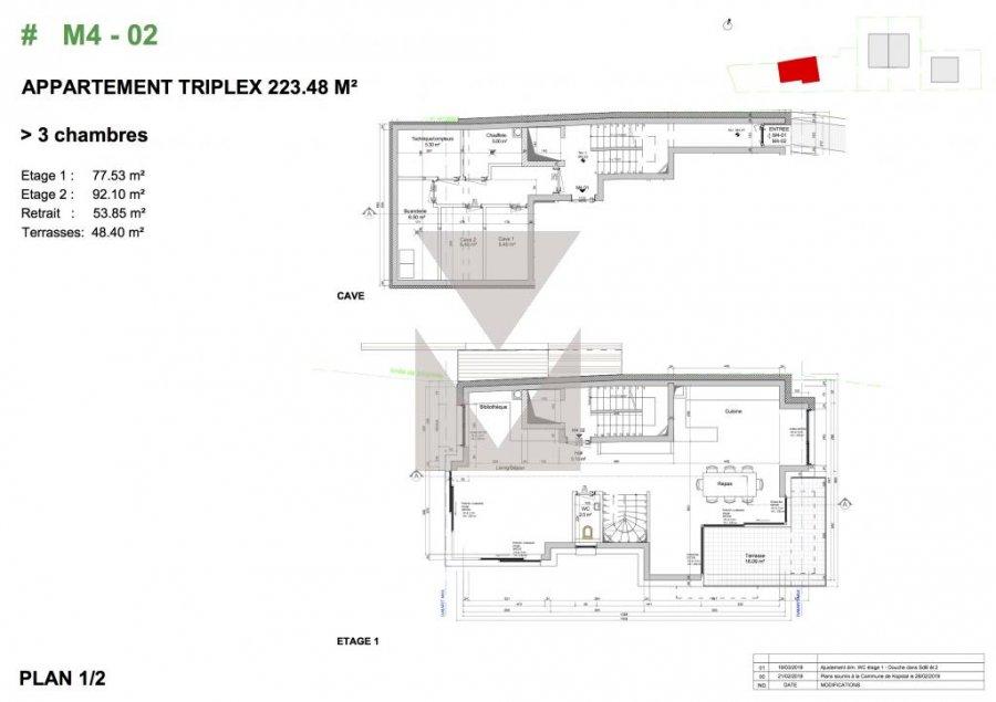 acheter triplex 4 chambres 223.48 m² bridel photo 4