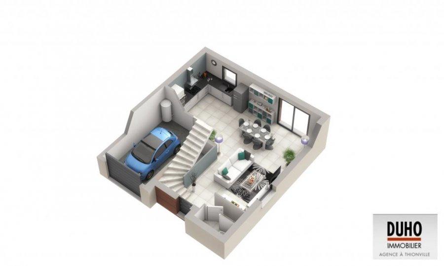 acheter maison jumelée 5 pièces 101 m² hettange-grande photo 2