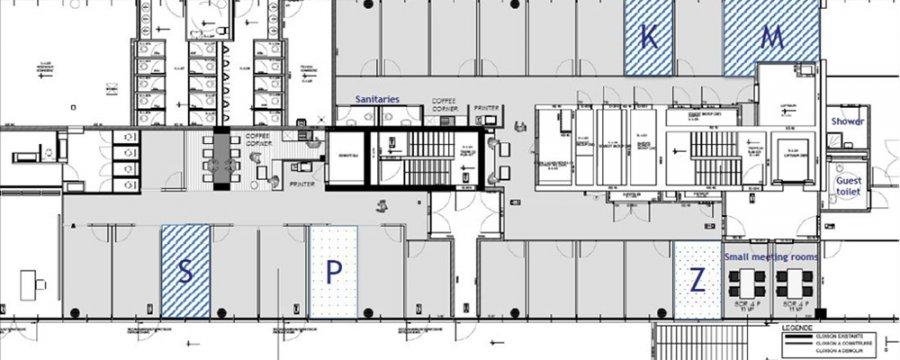 louer bureau 0 chambre 19.2 m² luxembourg photo 2