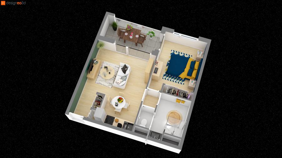 acheter appartement 2 pièces 46 m² saint-herblain photo 3