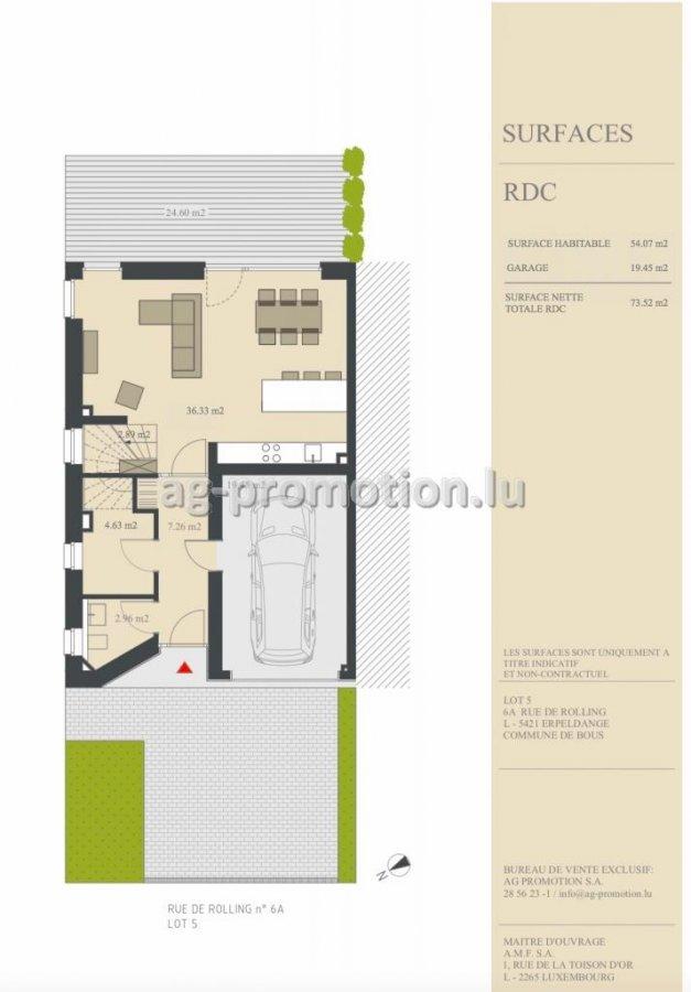einfamilienhaus kaufen 4 schlafzimmer 182.15 m² erpeldange (bous) foto 2
