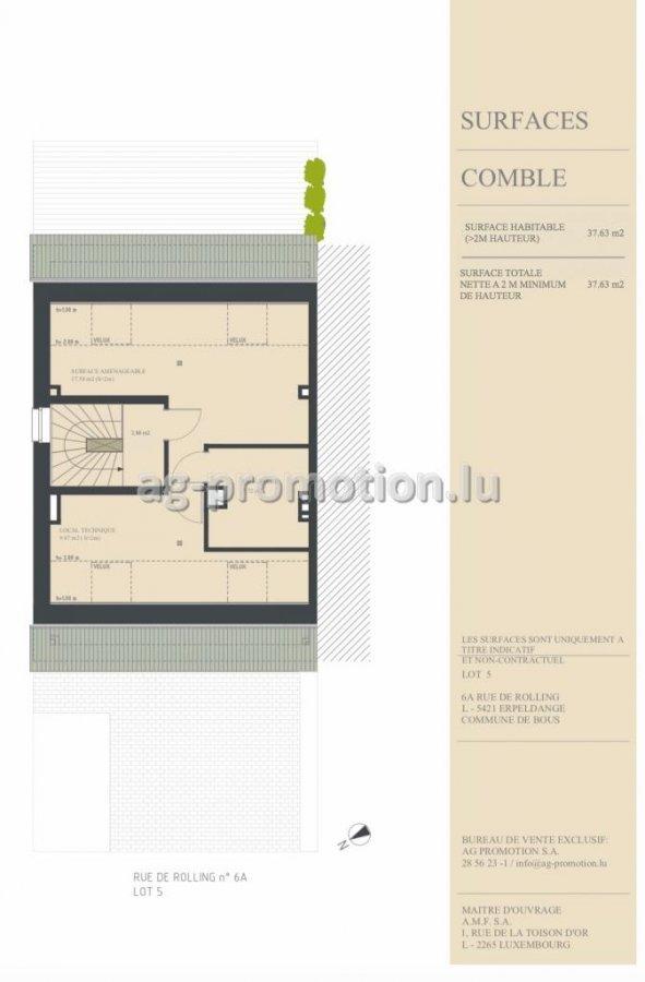 einfamilienhaus kaufen 4 schlafzimmer 182.15 m² erpeldange (bous) foto 4