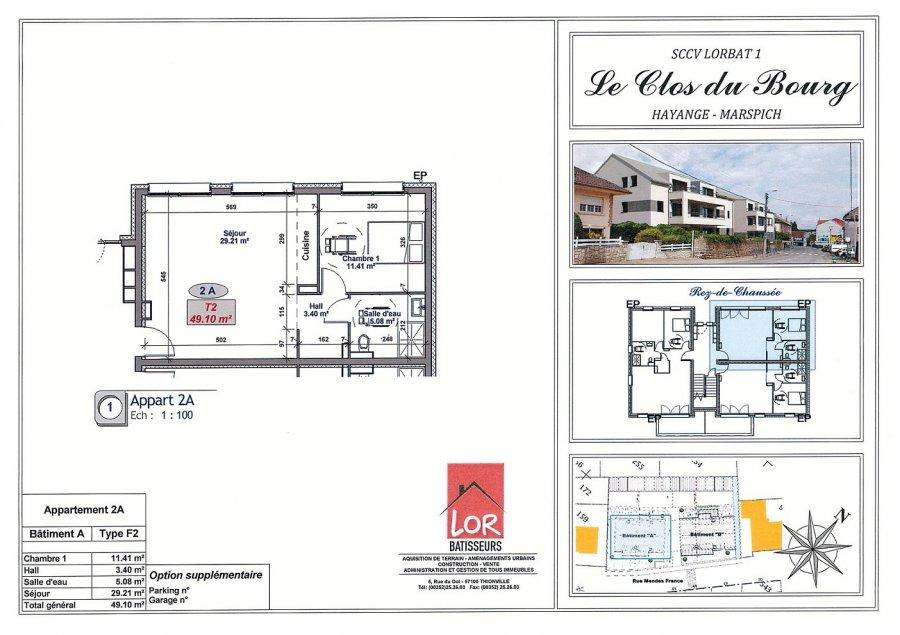 acheter appartement 2 pièces 49.1 m² hayange photo 7