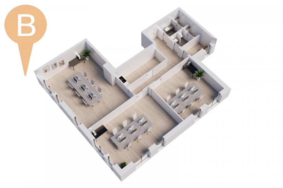 büro kaufen 1 schlafzimmer 75 m² wemperhardt foto 1