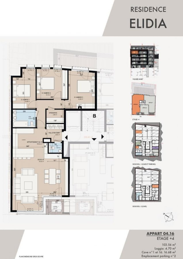 acheter appartement 3 chambres 105.44 m² luxembourg photo 2