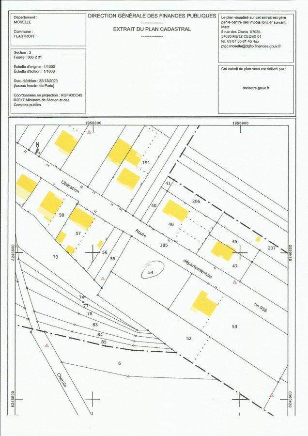 Terrain constructible à vendre à Flastroff