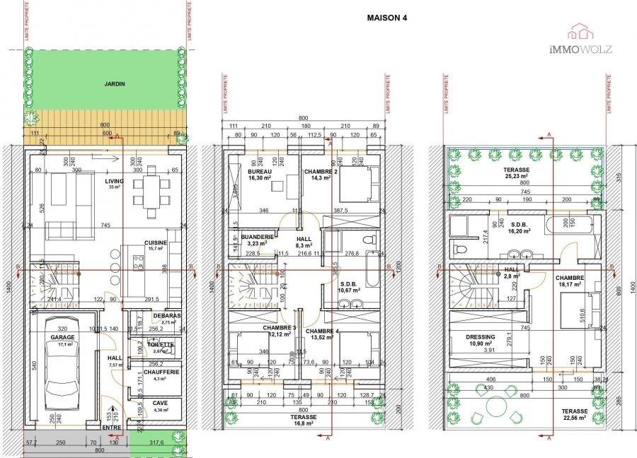 acheter maison jumelée 5 chambres 190 m² roullingen photo 5