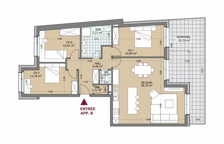 apartment for buy 3 bedrooms 129.73 m² rollingen photo 2