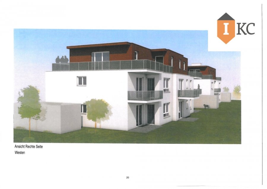 wohnung kaufen 3 zimmer 96.79 m² losheim foto 1