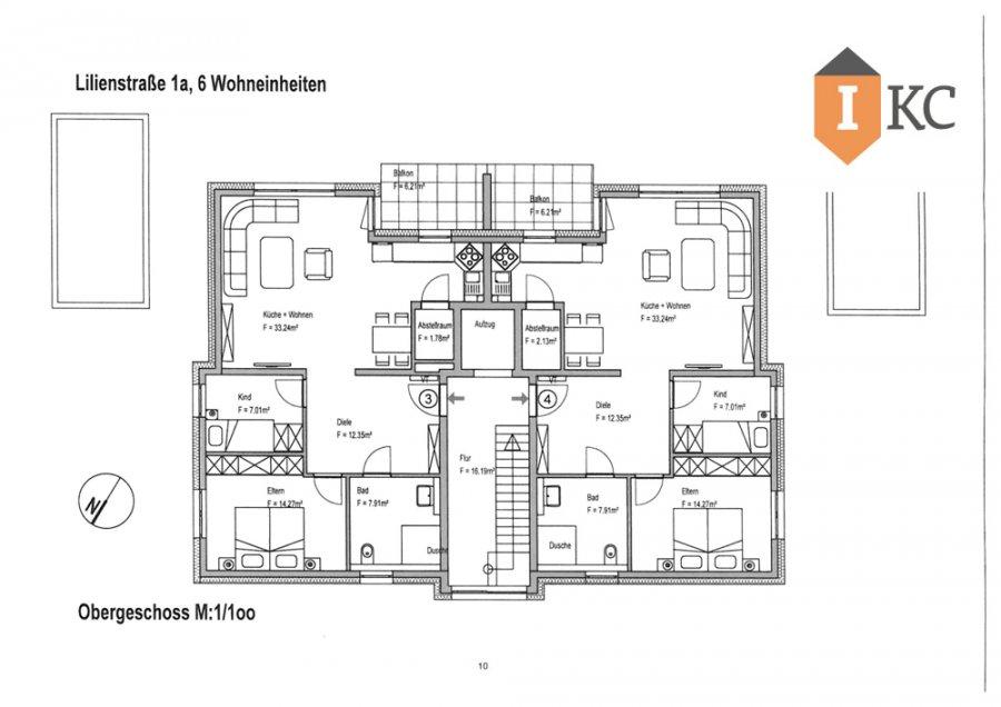 wohnung kaufen 3 zimmer 96.79 m² losheim foto 7