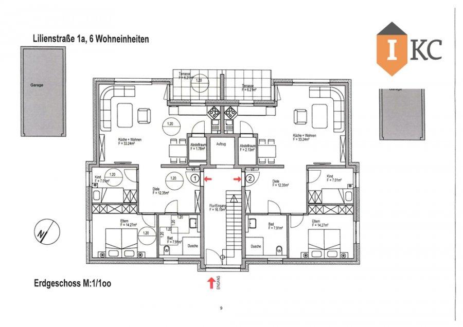 wohnung kaufen 3 zimmer 96.79 m² losheim foto 6