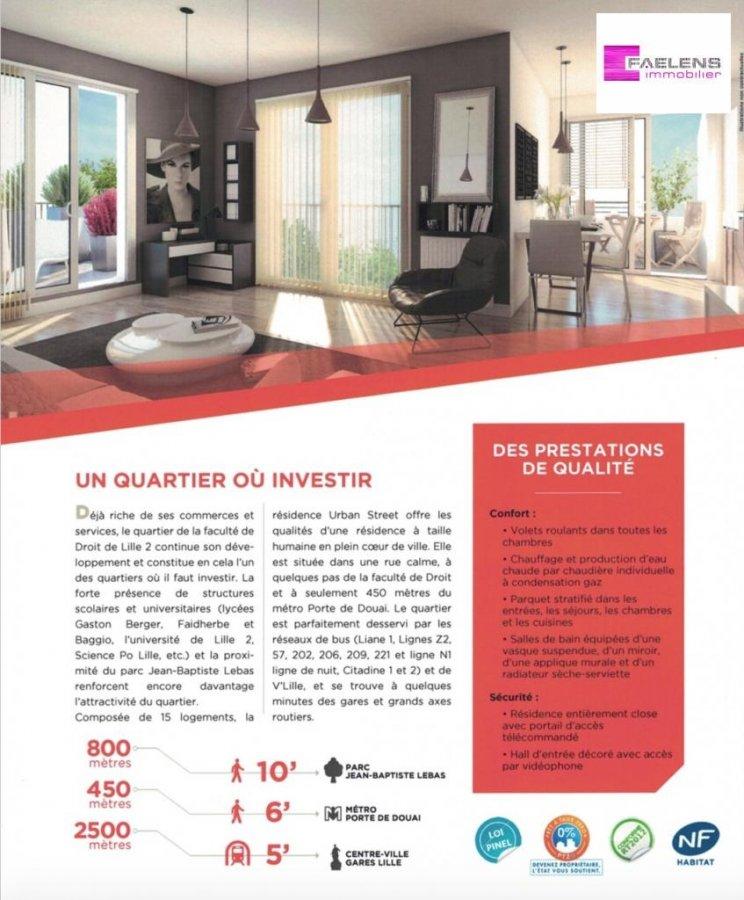 acheter appartement 4 pièces 82 m² lille photo 2