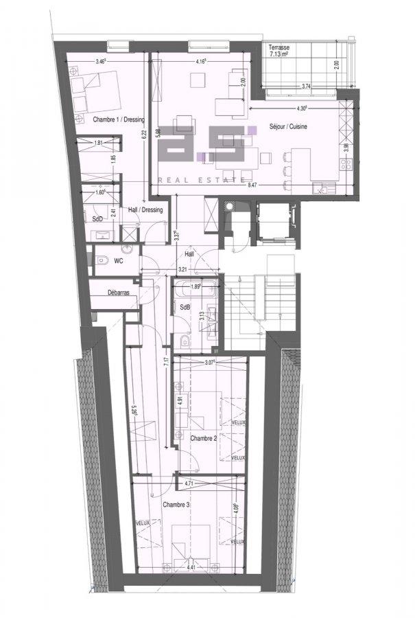 penthouse-wohnung kaufen 3 schlafzimmer 137.76 m² mondercange foto 7