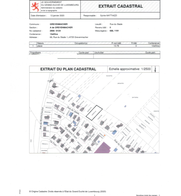 acheter terrain constructible 0 chambre 0 m² grevenmacher photo 4
