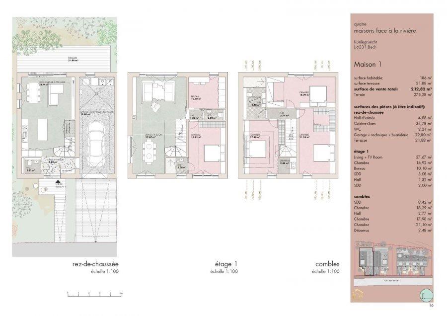 doppelhaushälfte kaufen 5 schlafzimmer 212.82 m² bech foto 7