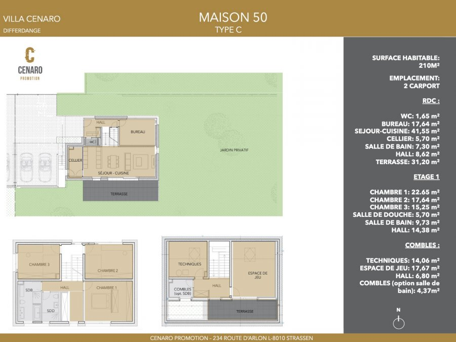 acheter maison 4 chambres 210 m² differdange photo 5