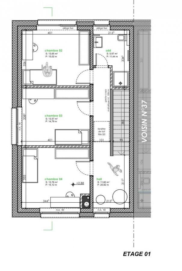acheter maison mitoyenne 4 chambres 170 m² ettelbruck photo 5