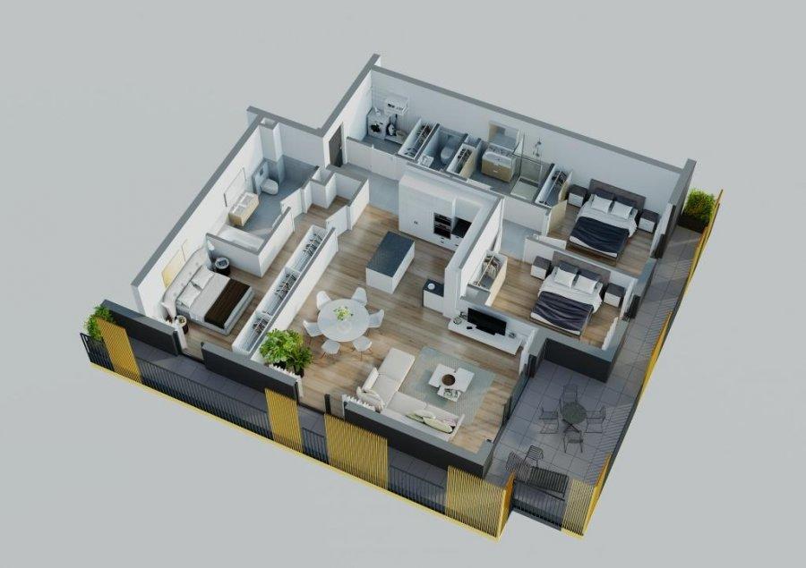 acheter résidence 0 chambre 85.5 à 237.23 m² differdange photo 7