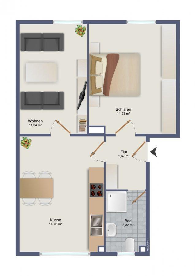 wohnung kaufen 2 zimmer 47 m² trier foto 7