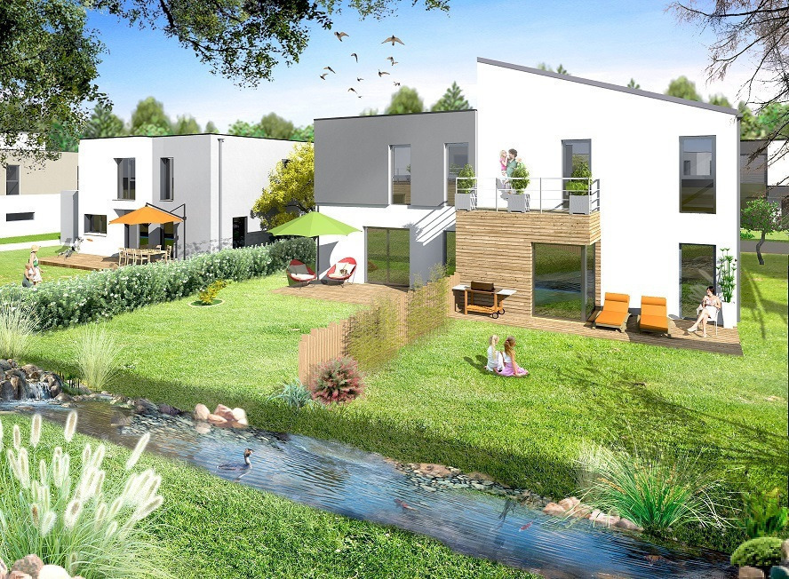 acheter maison jumelée 5 pièces 98 m² augny photo 2