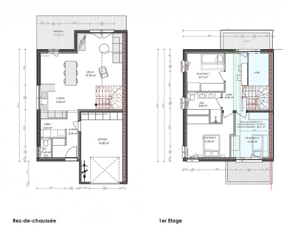 acheter maison jumelée 5 pièces 98 m² augny photo 5