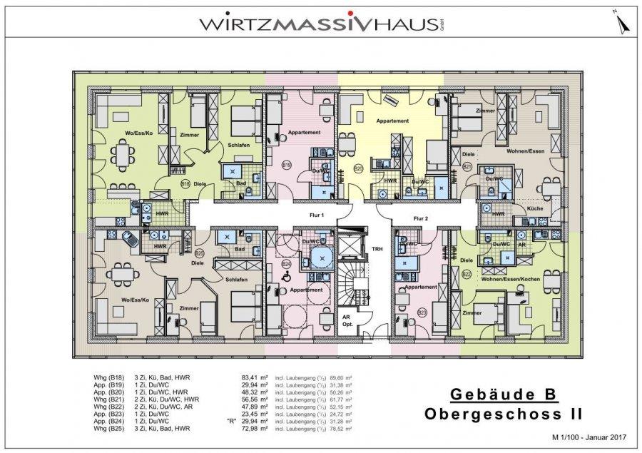 wohnung kaufen 3 zimmer 83.41 m² trier foto 5