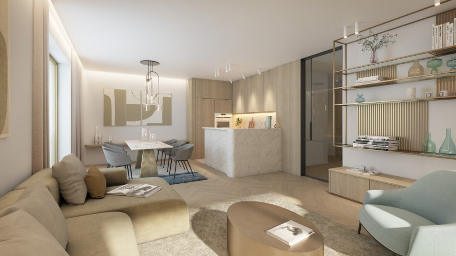 acheter appartement 2 chambres 97.36 m² luxembourg photo 1