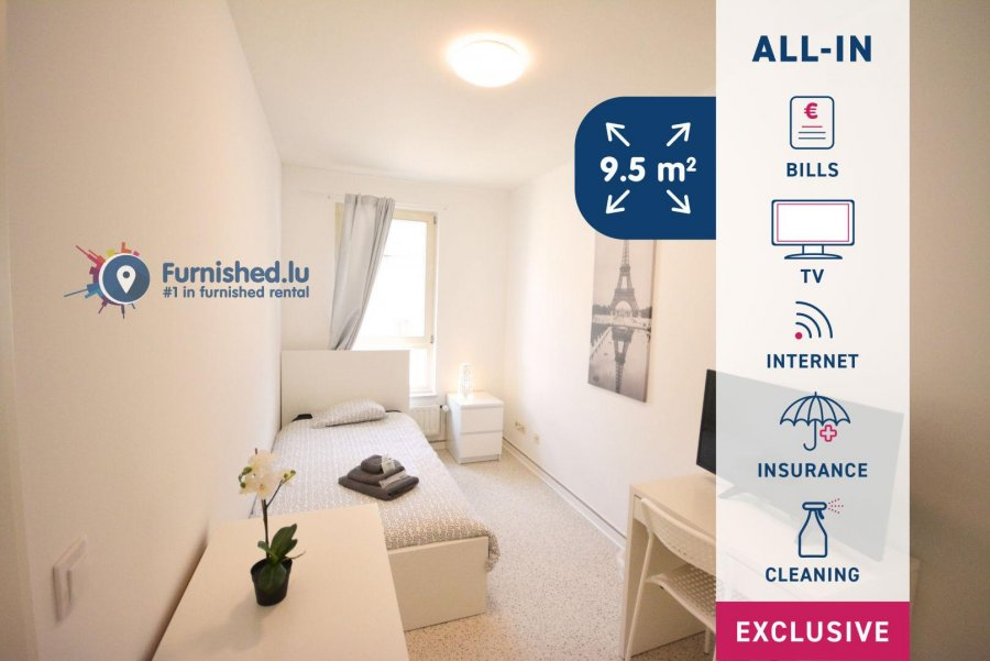 louer chambre 6 chambres 15 m² luxembourg photo 1