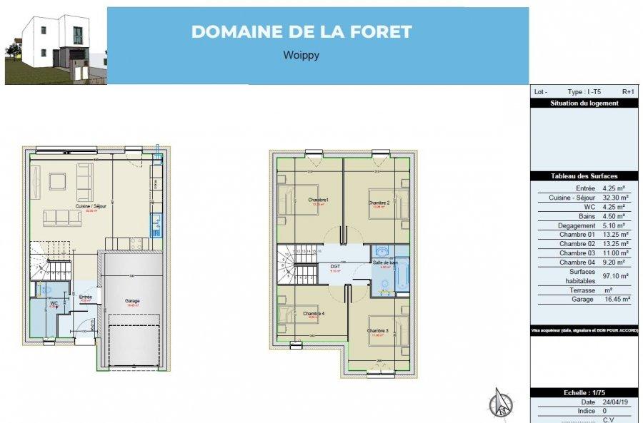 acheter maison 4 pièces 96.85 m² woippy photo 4