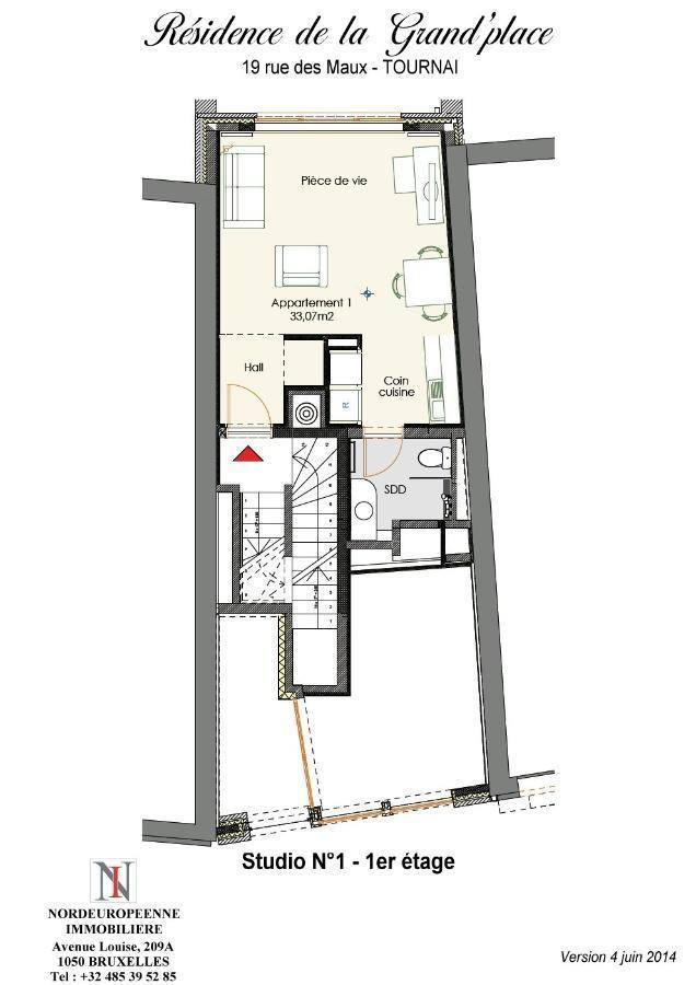 acheter appartement 1 pièce 33.07 m² lille photo 1