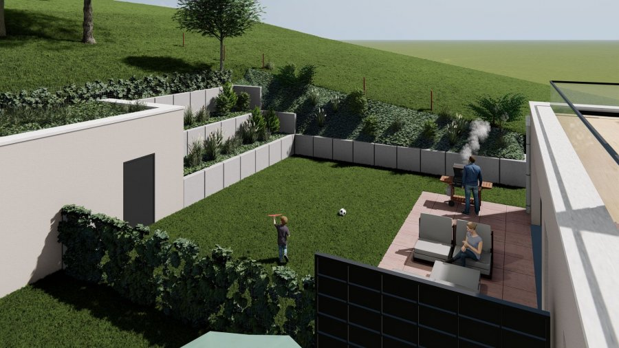acheter maison jumelée 6 chambres 369.95 m² buschdorf photo 4