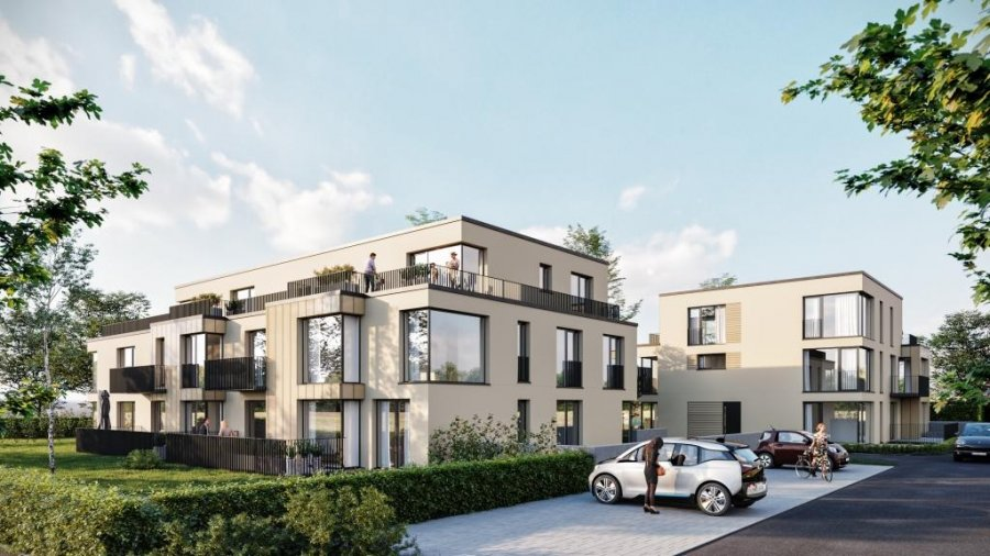 penthouse-wohnung kaufen 2 schlafzimmer 91.7 m² differdange foto 1