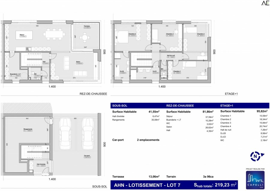 house for buy 4 bedrooms 219.23 m² ahn photo 3